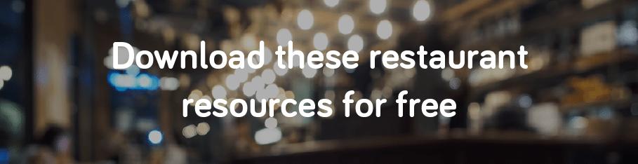 download free restaurant resources