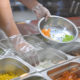 cold-holding unit with technology for restaurant food safety to keep salad ingredients cold