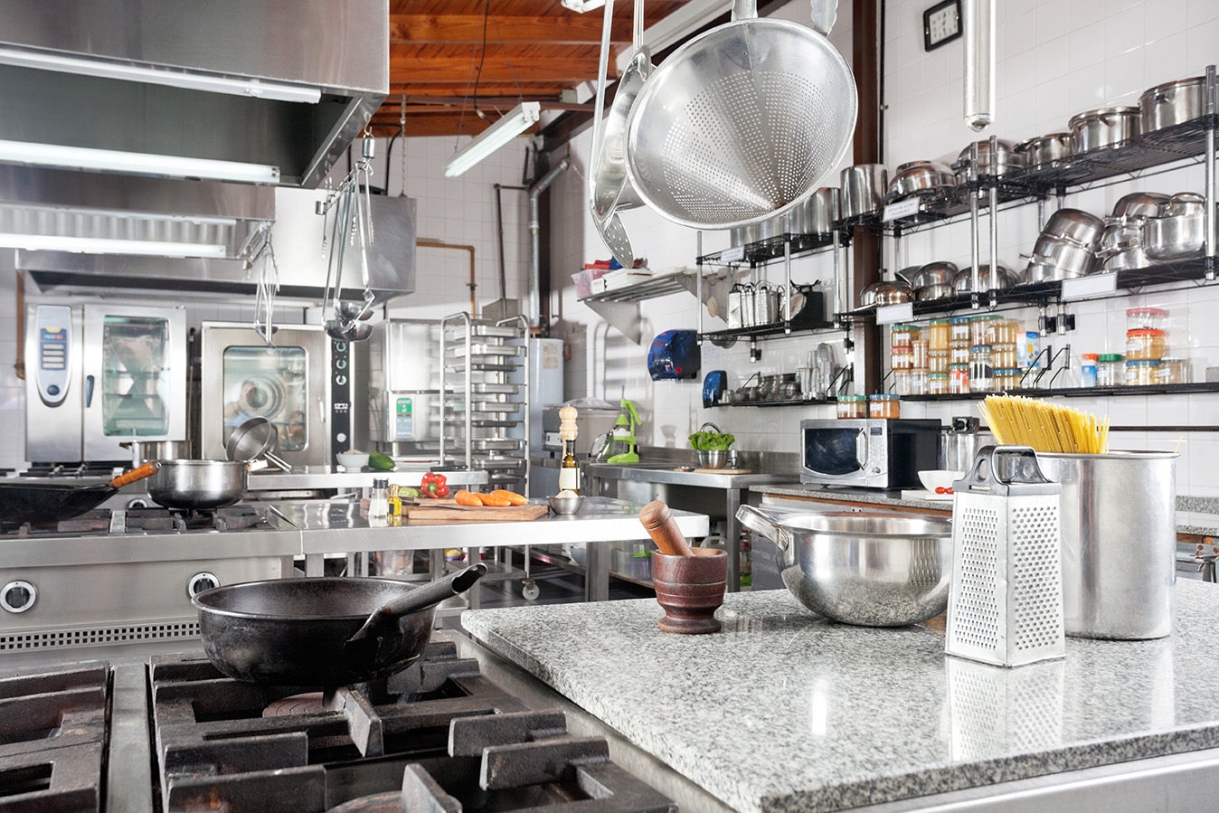Restaurant Kitchen Design And Food Safety