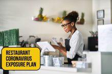 Restaurant Coronavirus Exposure Plan